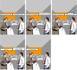 spanish project comic part one